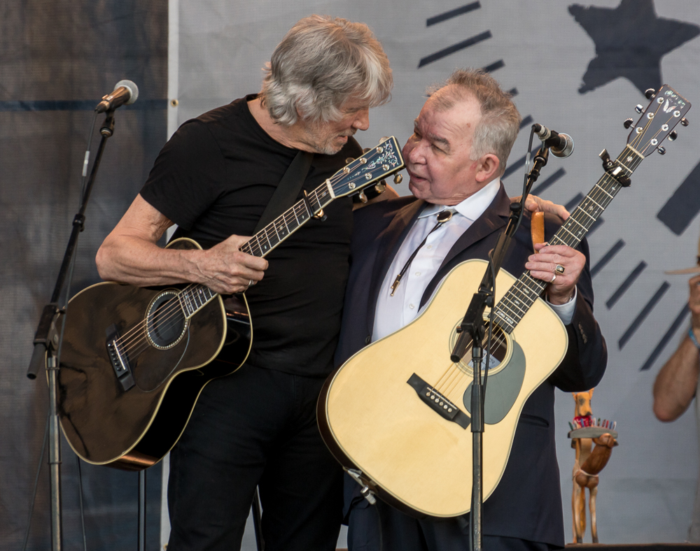 John Prine and Roger Waters