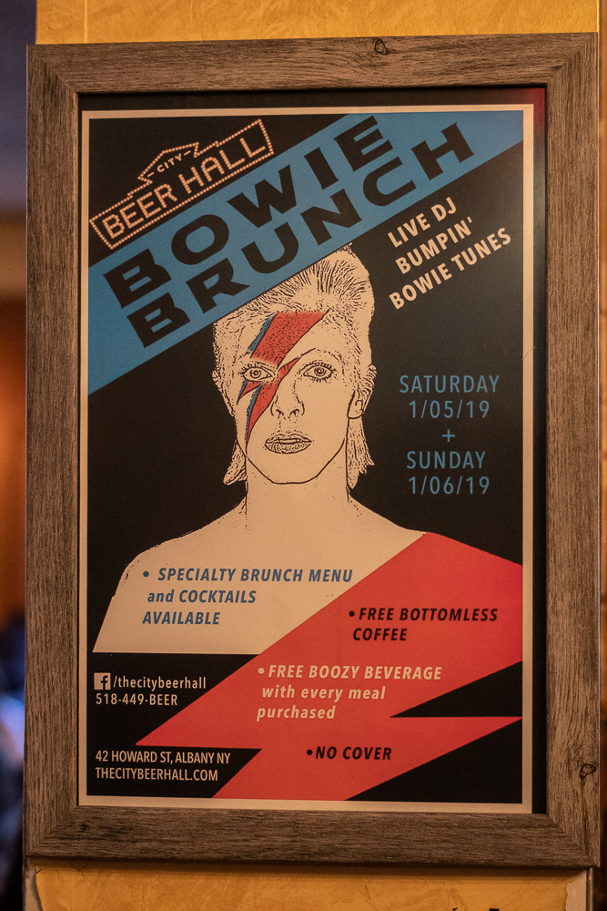 Bowie Brunch City Beer Hall
