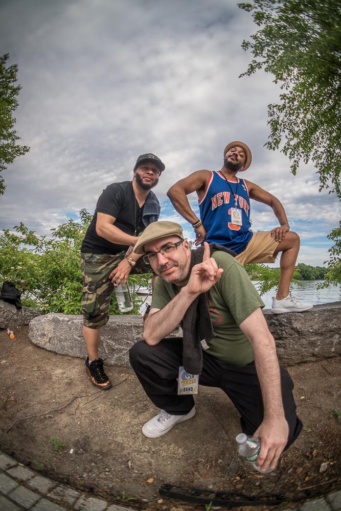 JB aka. Dirty Moses with DJ Trumastr and Paul Nice