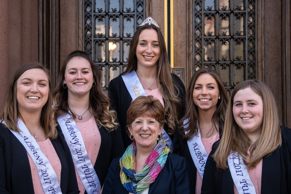 Tulip Court 2017 and Mayor Sheehan