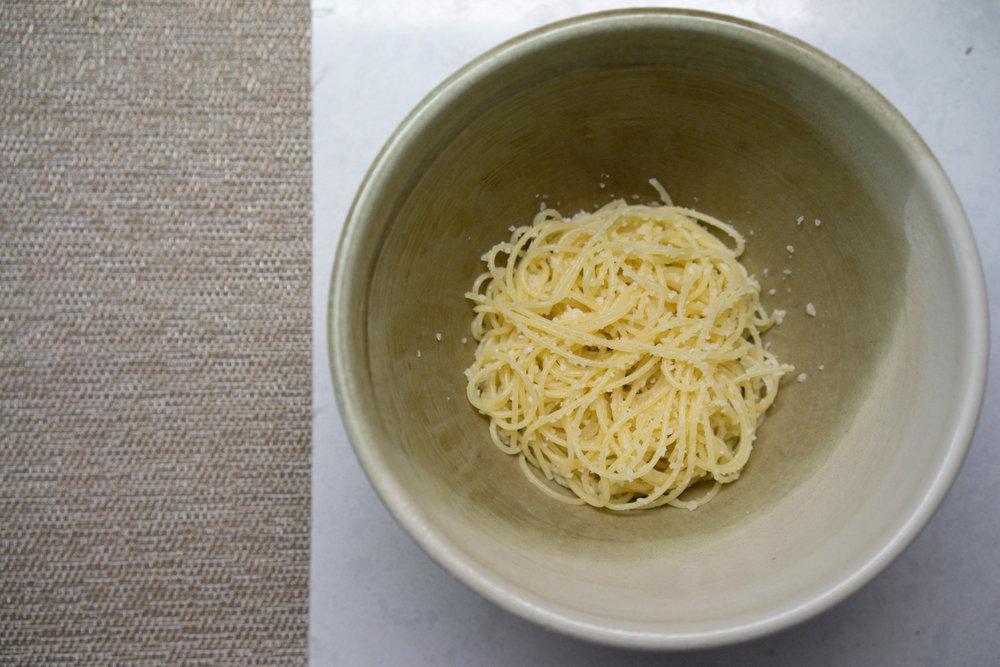 Spaghetti // Photo by Amy Wong.
