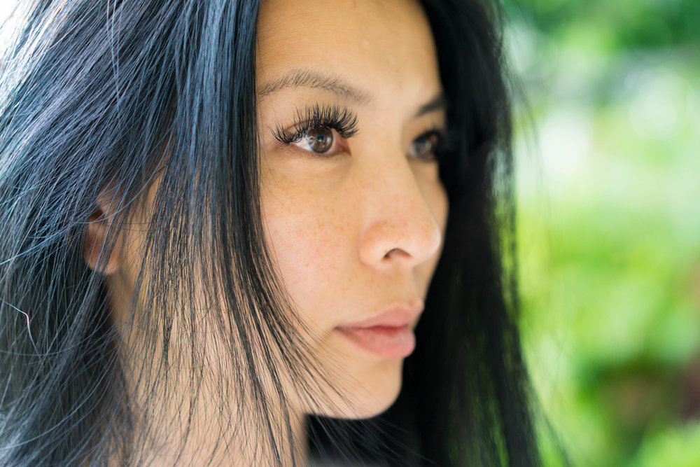 Lashes by Jenn of Beauty Mark. // Photo by Jasper Wong