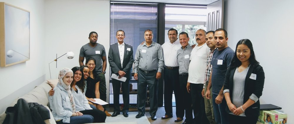 Friends from PIMCO, Tiyya's Adult LEAD Program and Staff at our Spring Career Building Workshop