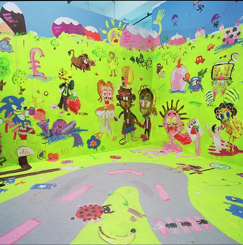 THE BACK GARDEN OF EARTHLY DELIGHTS, 2008