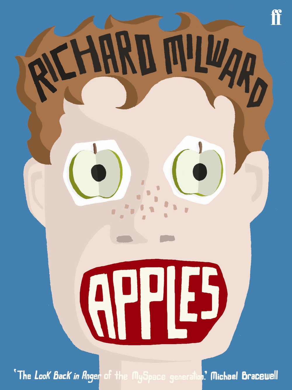 APPLES (2007, FABER & FABER)   As a distraction from sleazy male admirers, spiteful classmates and her mother's cancer, Eve's eyes are opened to a multicolour life of one-night stands, drug-fuelled discos and cheap plonk. She barely has time to notice Adam. Adam, however, notices Eve. While contending with sexual frustration, a violent father and increasingly compulsive behaviour, is he too busy reading  Razzle  in the attic to make his move? Narrated alternately by Adam and Eve, alongside a cast of delinquents, perverts and butterflies,  Apples  is an exploration of the difficulties of growing up and of getting 'fucked as quick as you can'.