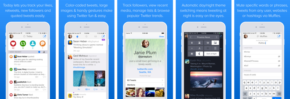 Twitterrific by The Iconfactory