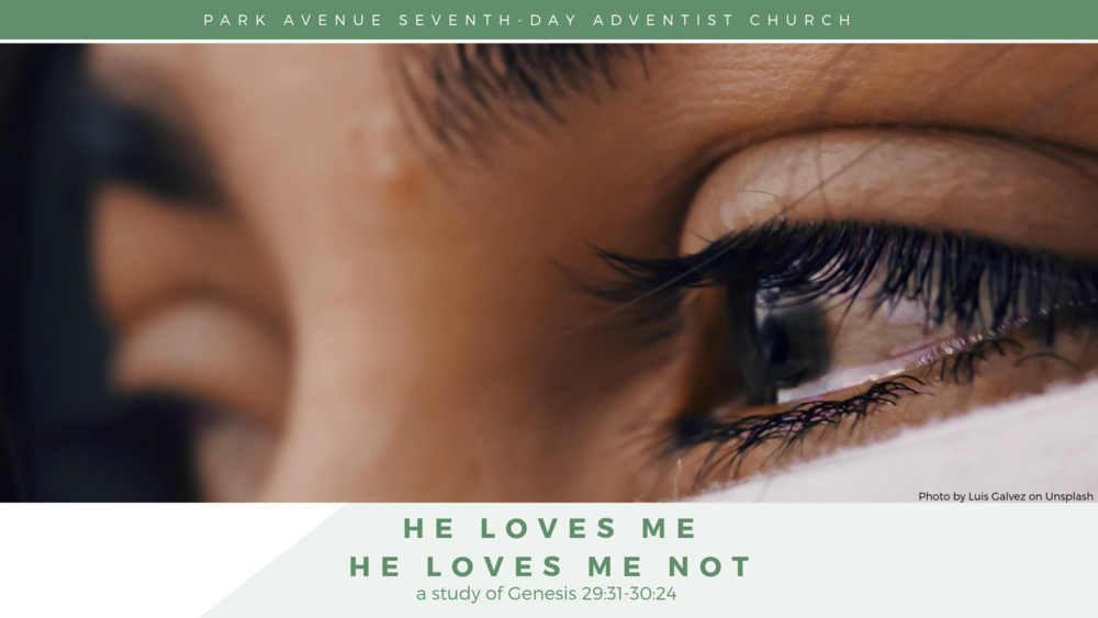 he loves me for who i am