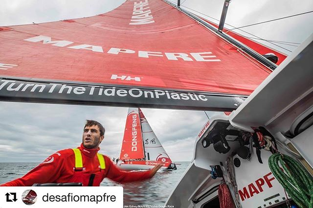 #Repost @desafiomapfre (@get_repost) ・・・ 💦Making the most of the 2-⛵ testing in #Sanxenxo. @dongfengraceteam It was good fun, wasnt it? 💪🏻 Aprovechando a tope los entrenamientos con Dongfeng en Sanxenxo!