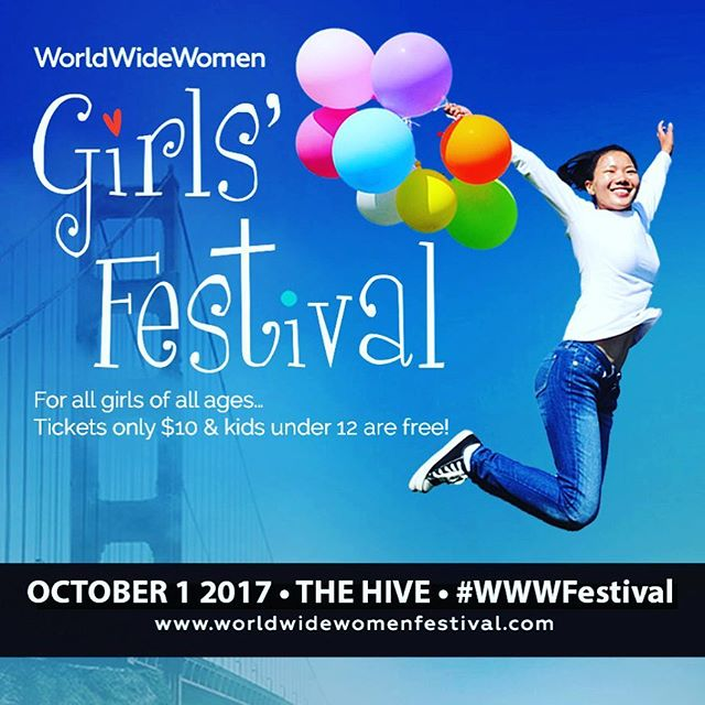 I'm excited to announce I will be teaching yoga at the @WorldWideWomenCo Girls' Festival @HiveOakland on Oct 1st, representing @GirlsElevate! I'll be teaching a fun, empowering flow at 10:45, 11:30, and 1:00 - see you #girls there! 💕🦄🦋🌈 . .  #wwwfestival #oakland #youthyoga #girlpower #yogasidekick #yoga #SFyoga #oaklandyoga #yogagram #yogalife #yogalove #yogagirl #people4yoga #namaste #om #yogainspiration #girlselevate