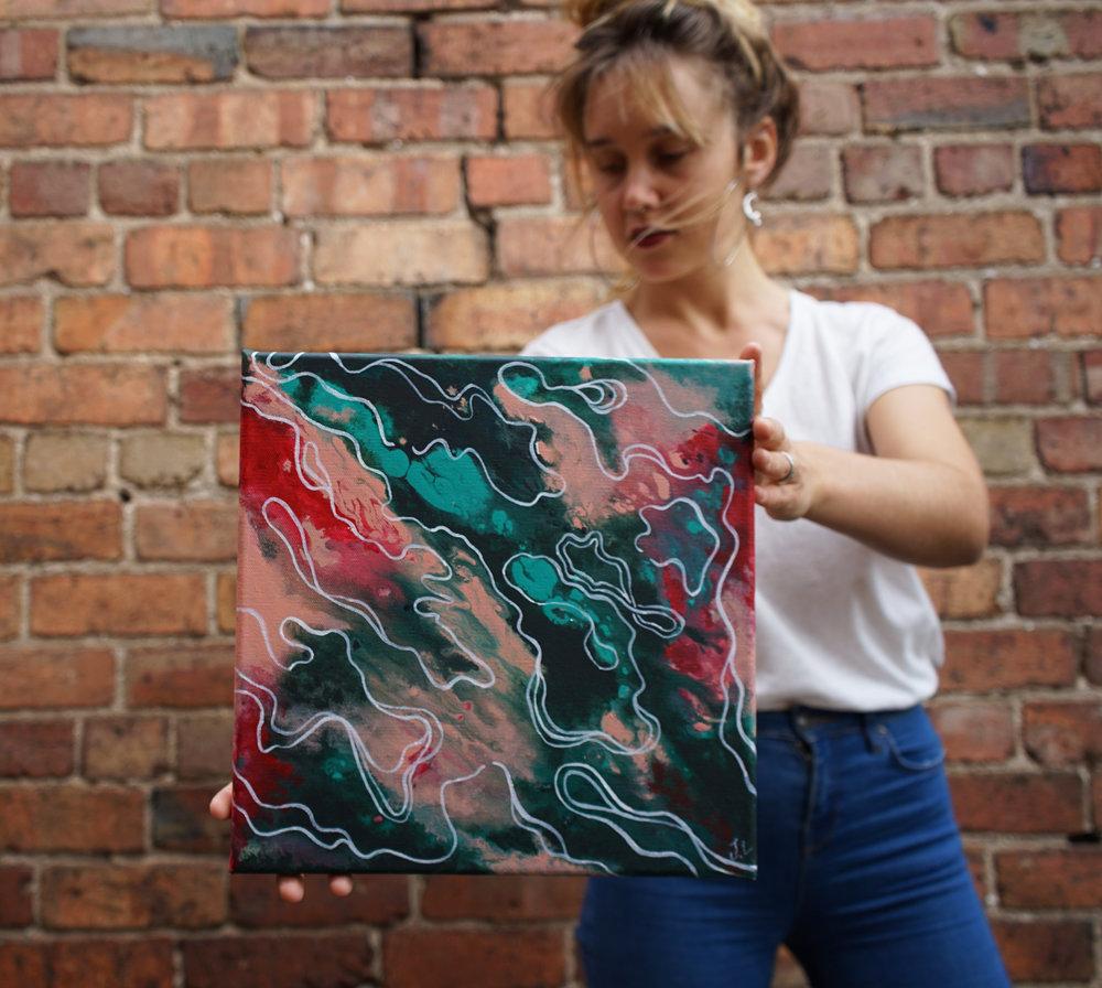 'Flow' Acrylic on Canvas