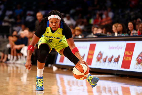 FLYING HIGH: The Dallas Wings Female Leaders Are Everything Veleisa Patton Burrell