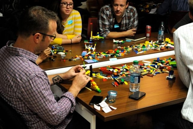 Clarifying the Red Cross challenge at the Lego: Serious Play workshop