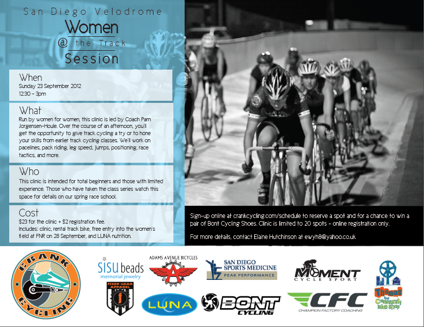 Another Women's Clinic — Crank Cycling