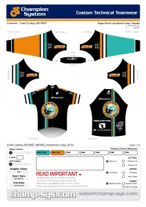 Crank Cycling Jersey