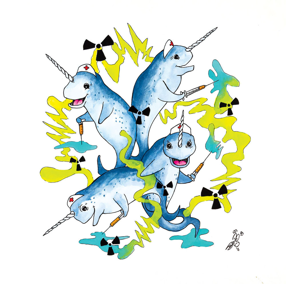N is for Notional narwhal nurses nullify nuclear nervousness