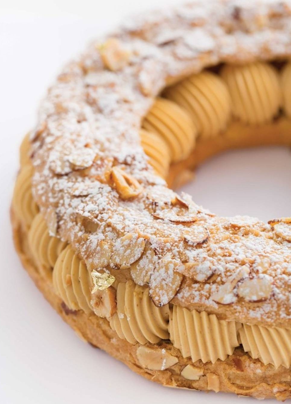 Paris-Brest by  Nathaniel Reid Bakery . Photo Credit to  Kevin Roberts  with STLMag