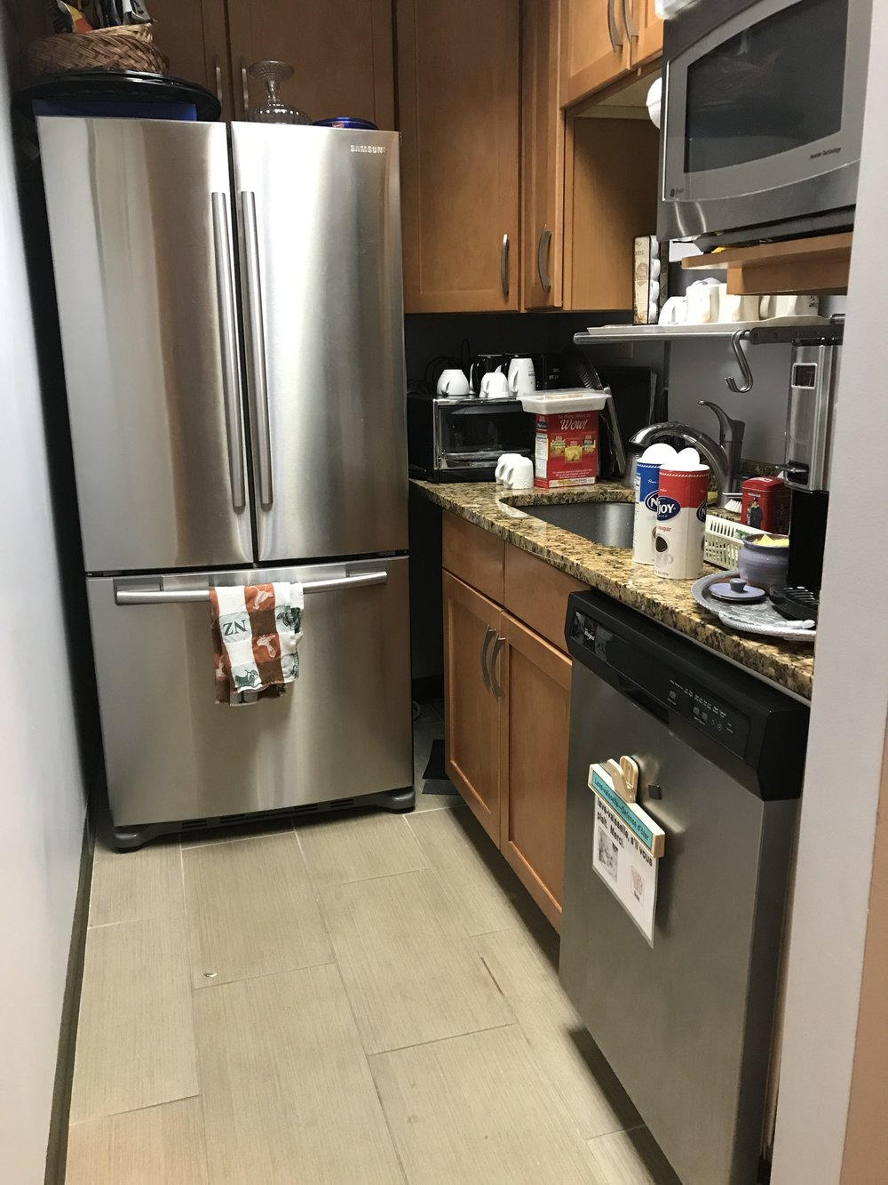 Our previous kitchen (before remodel)