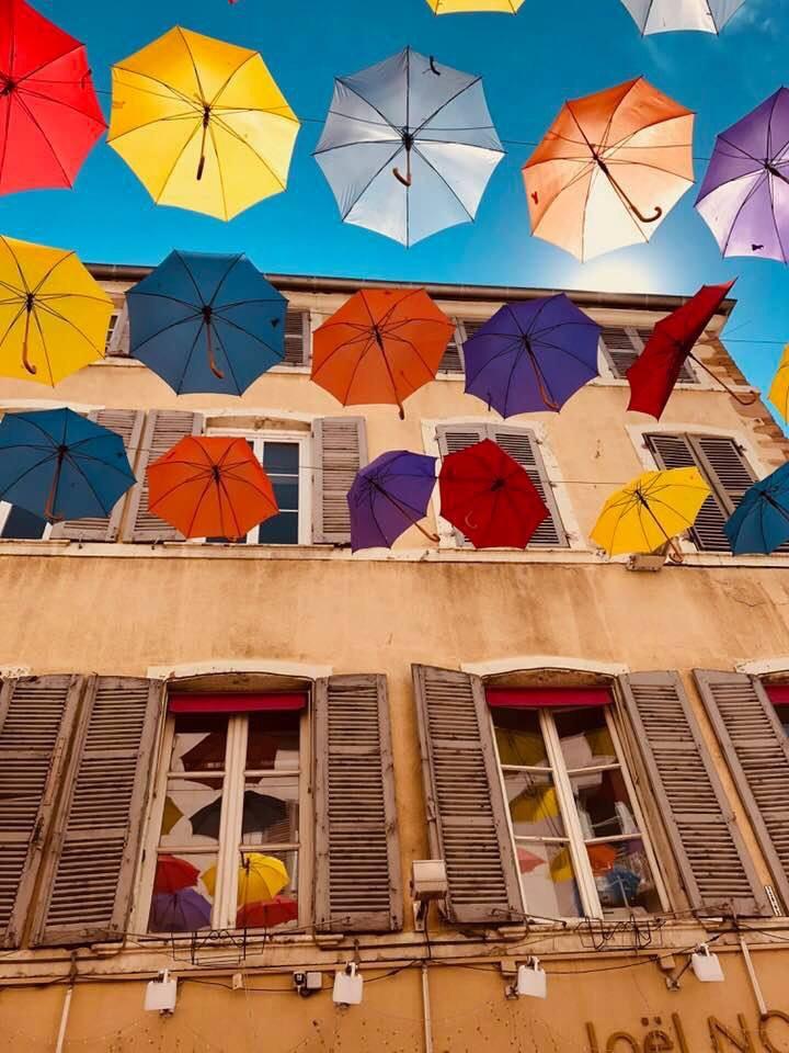 Les parapluies de Mâcon
