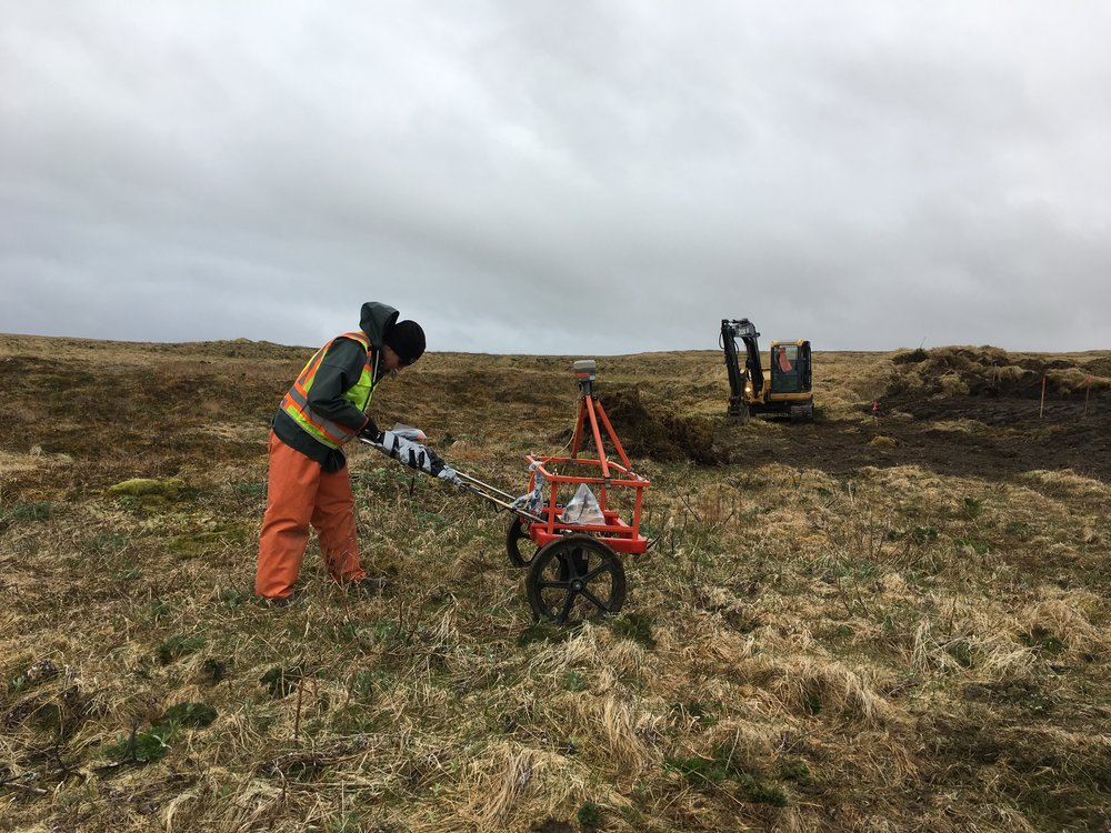 A contaminated site investigation at a formerly used defense site in Alaska