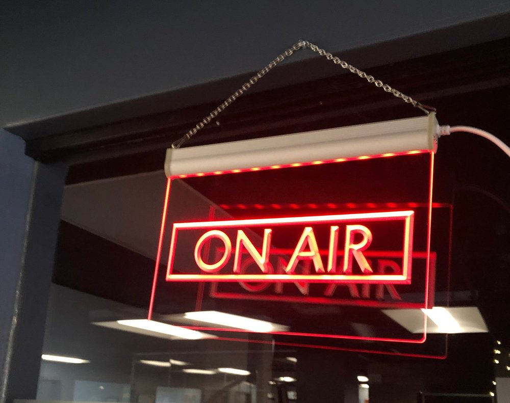 Media Room - Have a podcast, video blog, or just need some recording space? Contact us at base110kentucky@gmail.com to inquire about reserving our space!