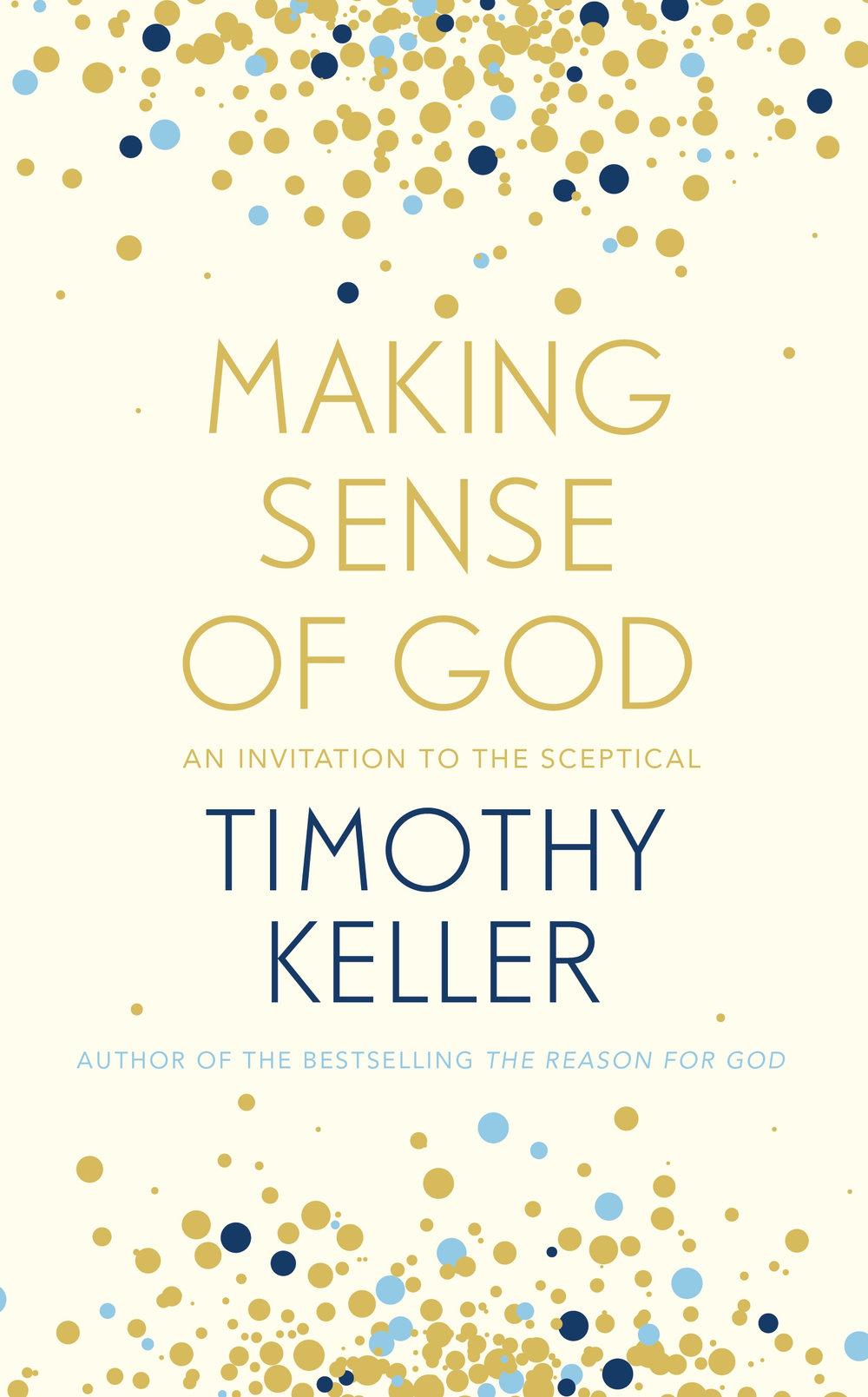 making sense of god timothy keller