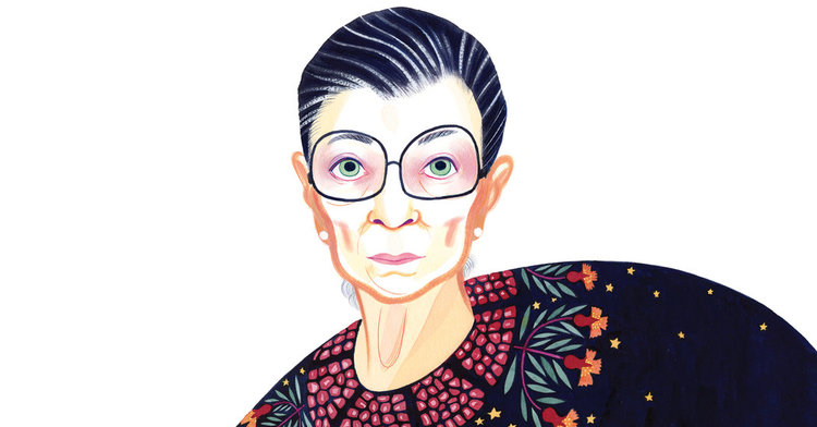 hbd to the notorious rbg h a l e