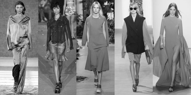 (Left to Right Hellessy, Phillip Lim, Lacoste, Michael Kors, Prabal Gurung)