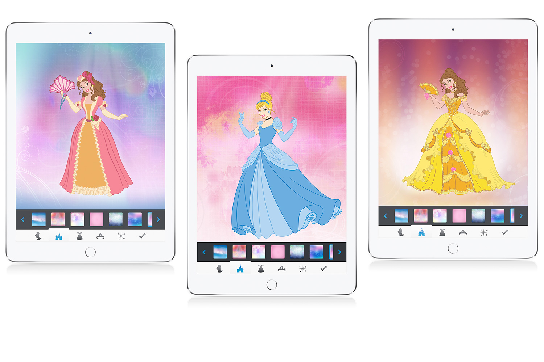 Disney Princess Dress Up App