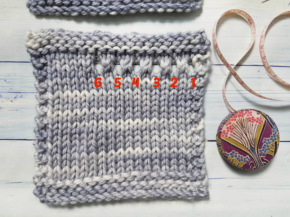 Getting Gauge for Swatches : Tips and Tricks | Delicious Yarns