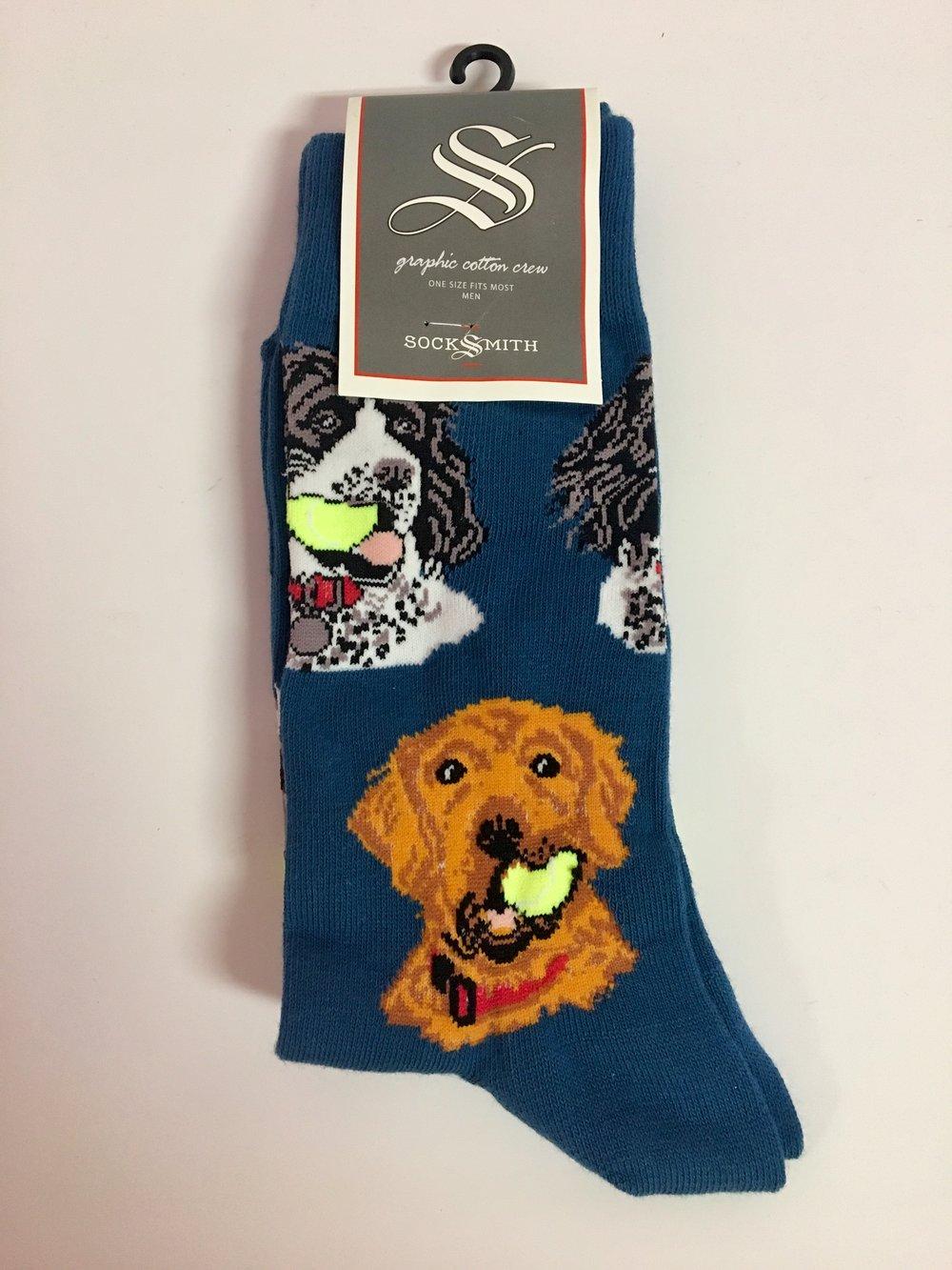 Men S Dog Socks The 405 Mercantile