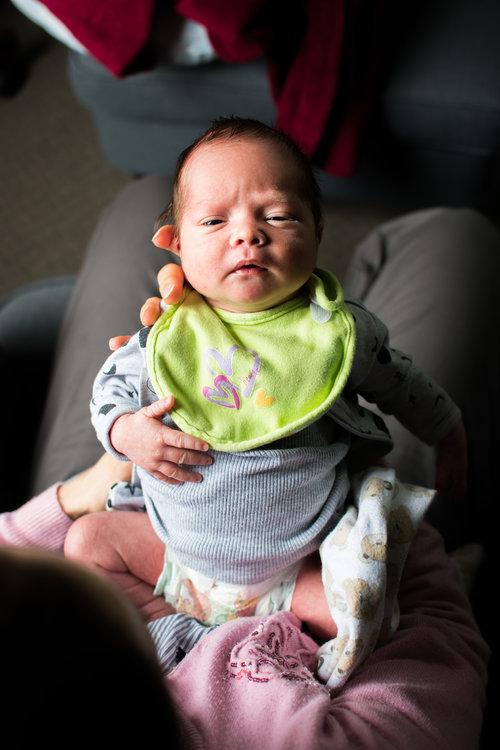 Hey babe photography newborn baby j w