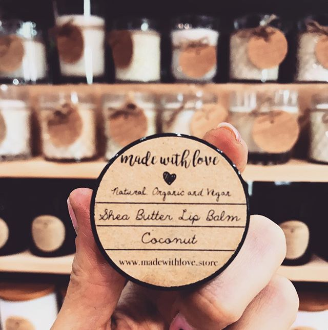 As well as the most divine array of soy candles - @madewithlove.homeandbody also make a beautiful range of skin and beauty products, including this luscious lip balm. Pop in this weekend, we're open Saturday and Sunday 10-5. #many2 #manyprojects #handmade #ethical #smallbatch #skincare #soycandles #lipbalm #madeinaustralia #madeinperth #vegan