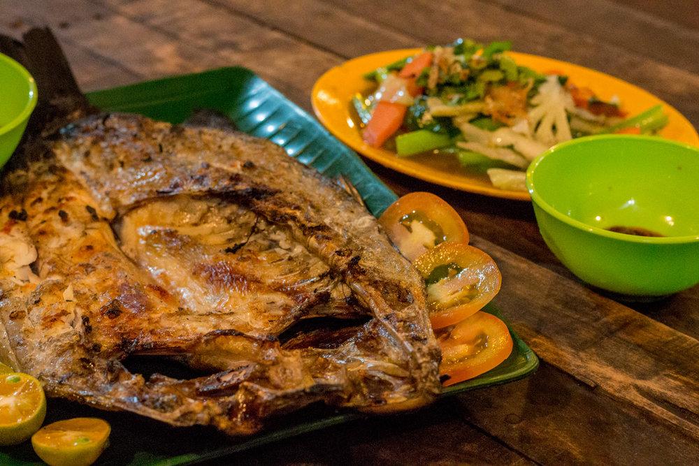Grabbing A Fish Dinner Pulau Pangkor