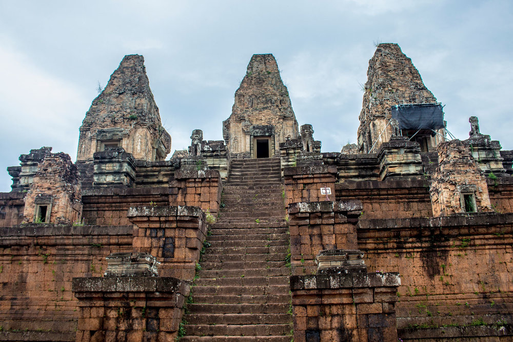 Looking Up At Pre Rup
