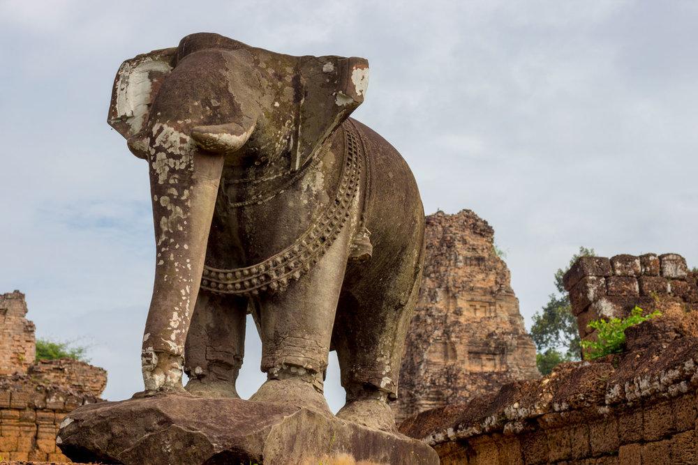 Elephant at Eastern Mebon