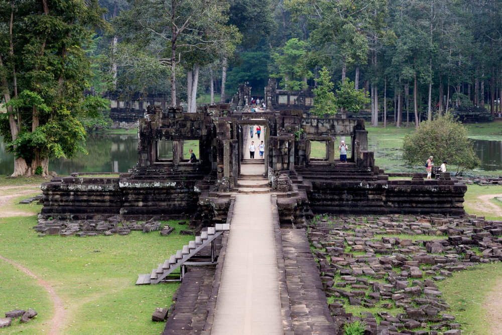 The Grand Walkway at Baphuon