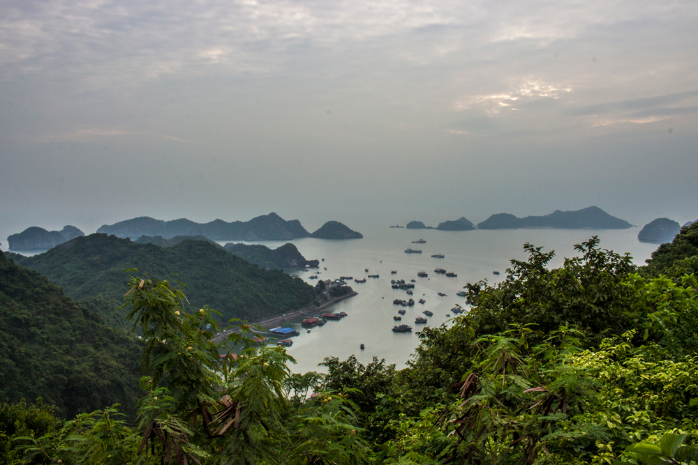 Lan Ha Bay from Cat Ba Island