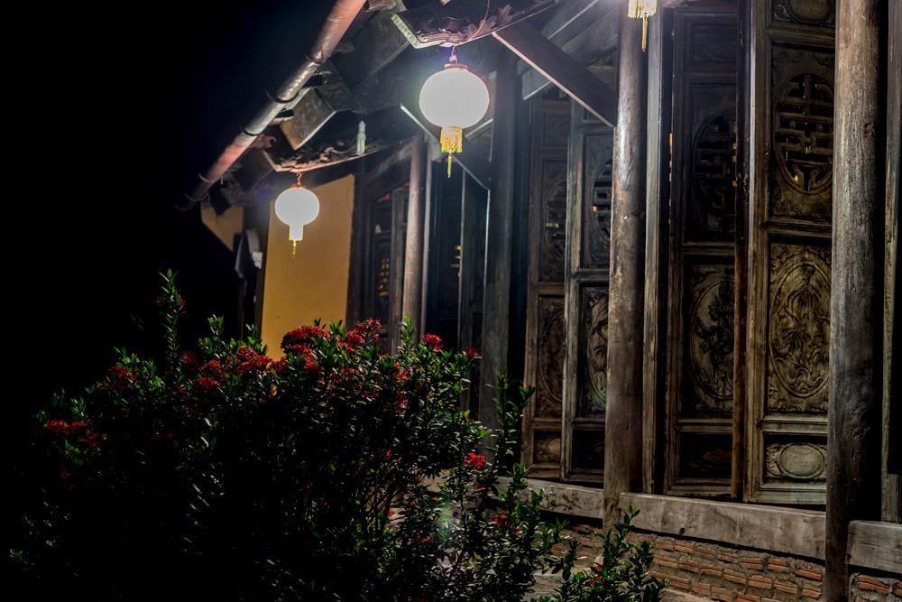 Ancient House at night