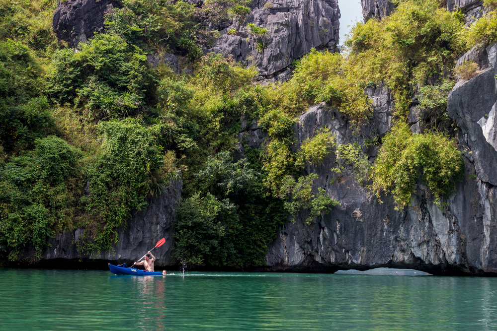 Paddling To Into Secret Lagoons Asia Outdoors