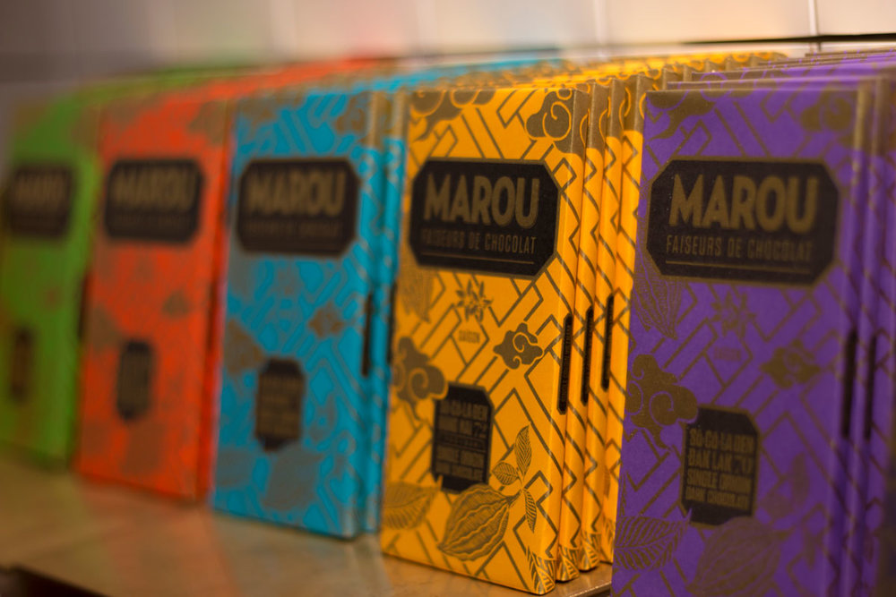Bean to Bar on display at Marou
