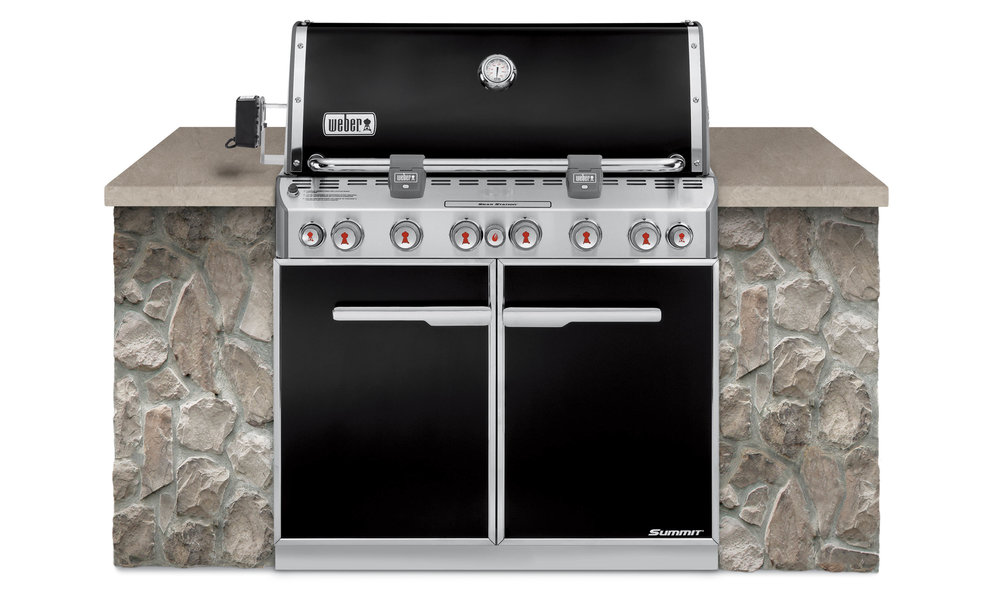 WEBER SUMMIT E660 PREMIUM BUILT IN    $5,399 LPG/NG (includes delivery & assembly)   The entire cooking system is preassembled in its own housing and then calibrated and tested by our experts at the factory. The burner system is factory installed into the cooking box. All the chef has to do is turn the Snap-Jet™ ignition switch – then the excitement really begins. Available in bottled or natural gas, you're sure to find one that the barbecue chef in your family will love.