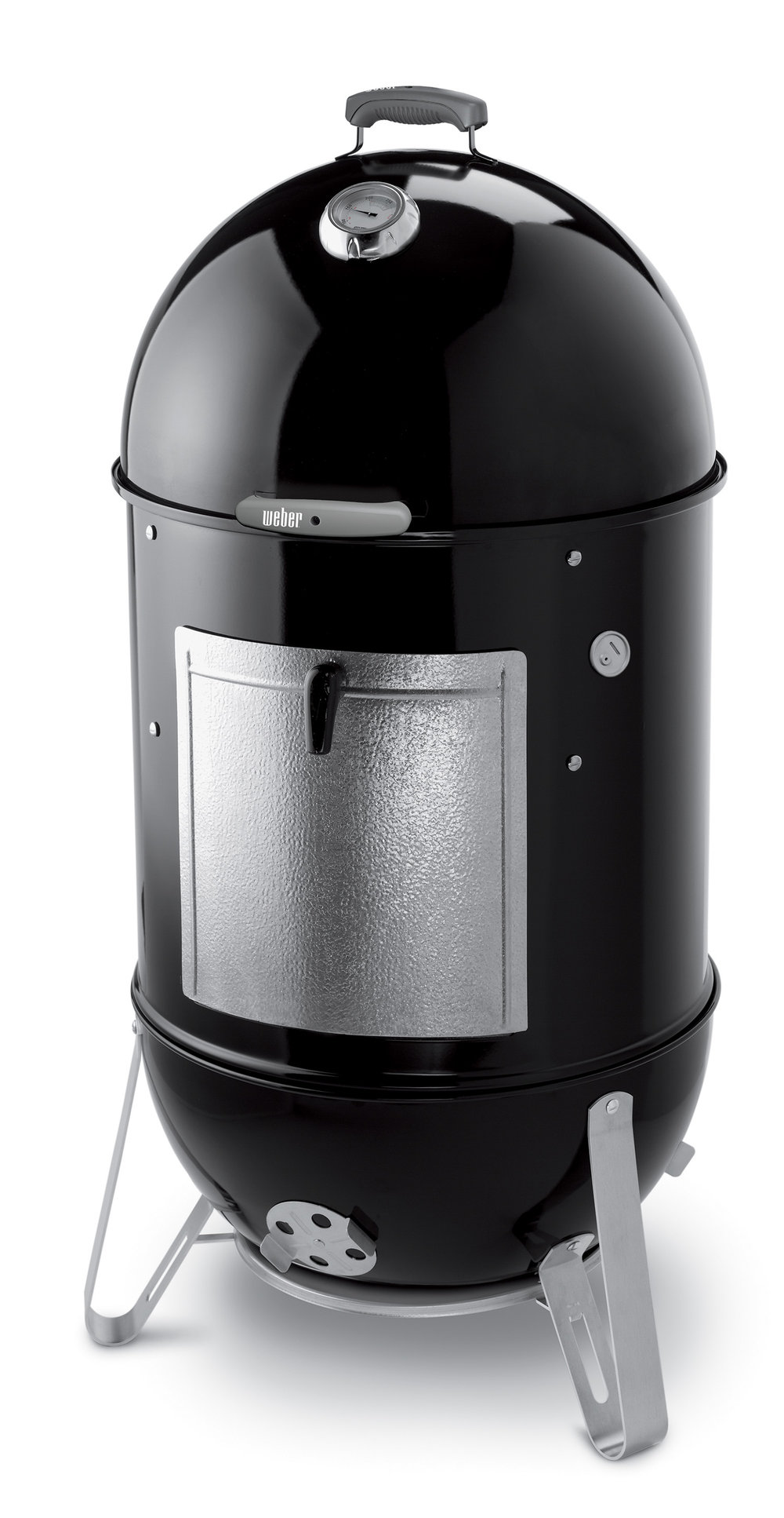 WEBER 57CM SMOKEY MOUNTAIN COOKER $999   The smoker is made from heavy gauge steel sealed in porcelain enamel that won't peel, stain or burn. The cookbook includes an easy reference smoker cooking chart and all the information you need to get you started. Also included with the Smokey Mountain Cooker is a premium quality vinyl cover
