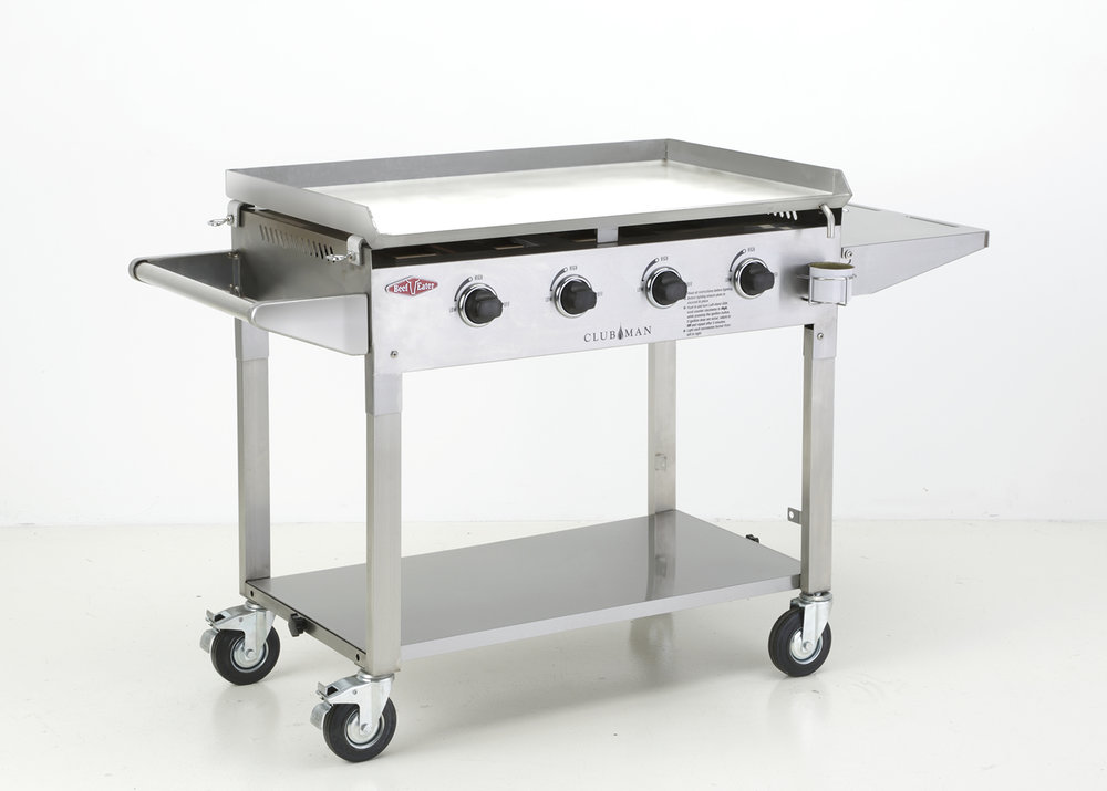 CLUBMAN 4 BURNER STAINLESS STEEL $1699 BD16440