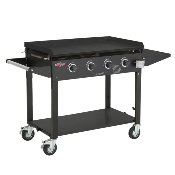 CLUBMAN 4 BURNER BLACK $899 -BD16640