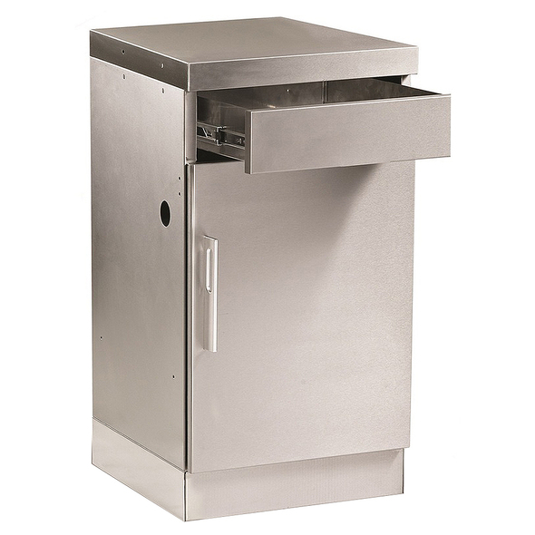 STAINLESS STEEL CABINET WITH DRAW $949 -BD77020