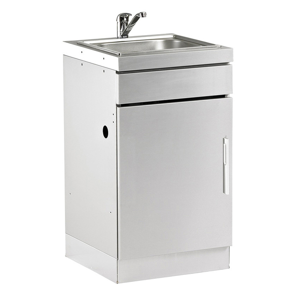 STAINLESS STEEL CABINET WITH SINK $999 -BD77010