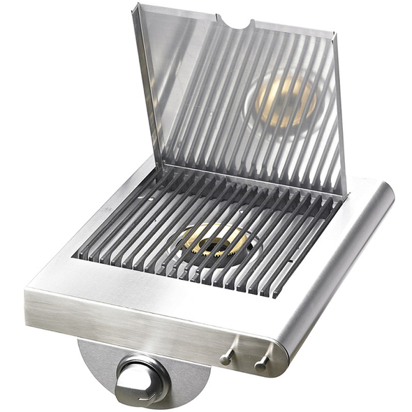 STAINLESS STEEL SIDE SHELF WITH BURNER $299 -BD77240