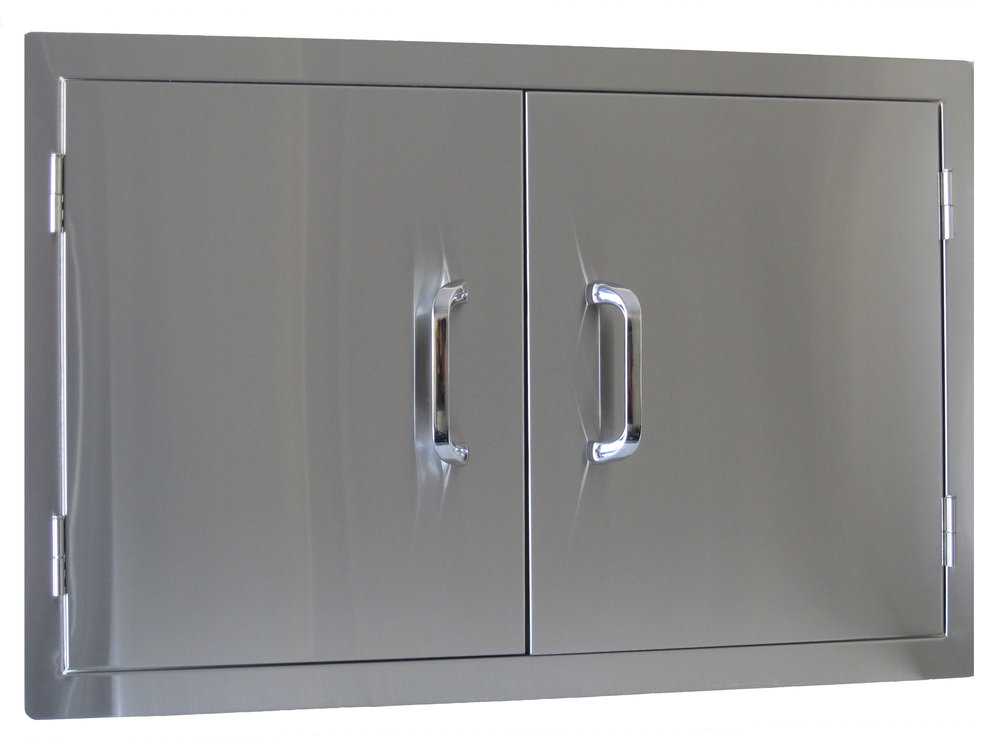STAINLESS STEEL DOUBLE DOOR $399 -BS23150