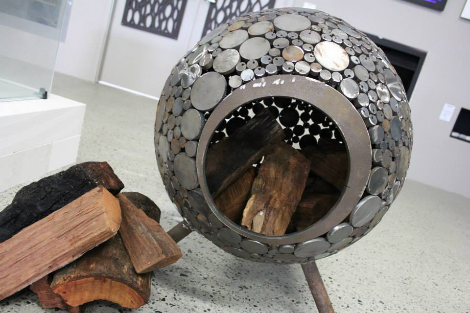 ball fire pit outdoor chef