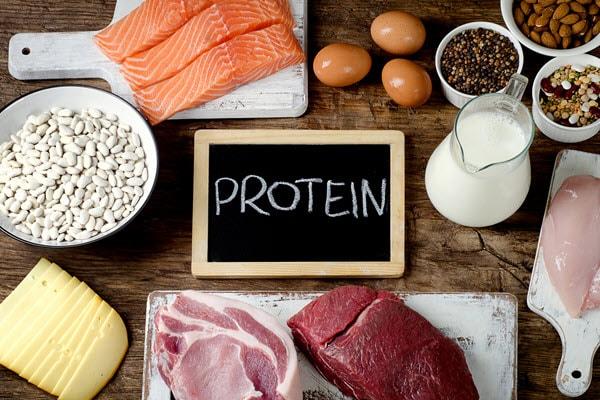 high-protein diet on a weber